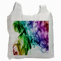 Colour Smoke Rainbow Color Design Recycle Bag (One Side)