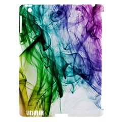 Colour Smoke Rainbow Color Design Apple iPad 3/4 Hardshell Case (Compatible with Smart Cover)