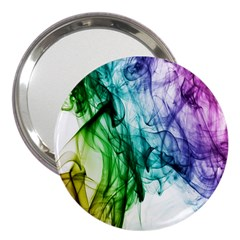 Colour Smoke Rainbow Color Design 3  Handbag Mirrors