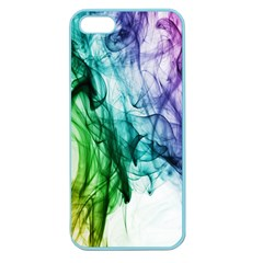 Colour Smoke Rainbow Color Design Apple Seamless Iphone 5 Case (color) by Amaryn4rt