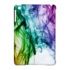 Colour Smoke Rainbow Color Design Apple Ipad Mini Hardshell Case (compatible With Smart Cover) by Amaryn4rt