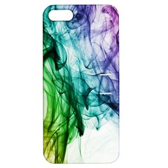 Colour Smoke Rainbow Color Design Apple iPhone 5 Hardshell Case with Stand