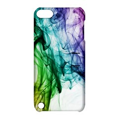 Colour Smoke Rainbow Color Design Apple iPod Touch 5 Hardshell Case with Stand