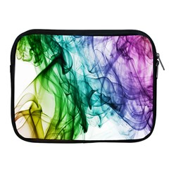 Colour Smoke Rainbow Color Design Apple Ipad 2/3/4 Zipper Cases by Amaryn4rt