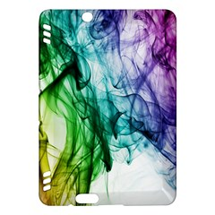 Colour Smoke Rainbow Color Design Kindle Fire Hdx Hardshell Case by Amaryn4rt