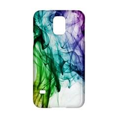 Colour Smoke Rainbow Color Design Samsung Galaxy S5 Hardshell Case