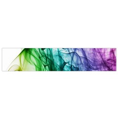 Colour Smoke Rainbow Color Design Flano Scarf (small) by Amaryn4rt