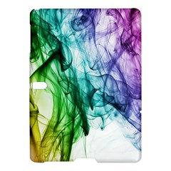 Colour Smoke Rainbow Color Design Samsung Galaxy Tab S (10 5 ) Hardshell Case  by Amaryn4rt