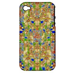 Lizard And A Skull Apple Iphone 4/4s Hardshell Case (pc+silicone) by pepitasart