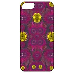 Colors And Wonderful Sun  Flowers Apple Iphone 5 Classic Hardshell Case by pepitasart
