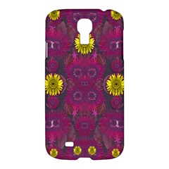 Colors And Wonderful Sun  Flowers Samsung Galaxy S4 I9500/i9505 Hardshell Case by pepitasart