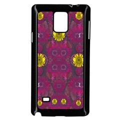Colors And Wonderful Sun  Flowers Samsung Galaxy Note 4 Case (black) by pepitasart