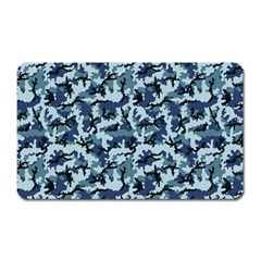 Navy Camouflage Magnet (rectangular) by sifis