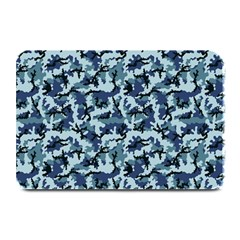 Navy Camouflage Plate Mats by sifis