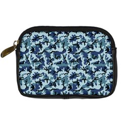 Navy Camouflage Digital Camera Cases by sifis