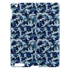 Navy Camouflage Apple Ipad 3/4 Hardshell Case by sifis