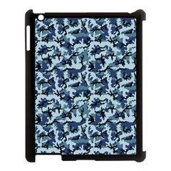 Navy Camouflage Apple Ipad 3/4 Case (black) by sifis
