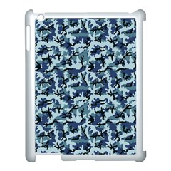 Navy Camouflage Apple Ipad 3/4 Case (white) by sifis