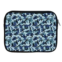 Navy Camouflage Apple Ipad 2/3/4 Zipper Cases by sifis