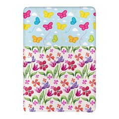 Watercolor Flowers And Butterflies Pattern Samsung Galaxy Tab Pro 10 1 Hardshell Case by TastefulDesigns