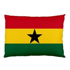 Flag Of Ghana Pillow Case by abbeyz71