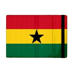 Flag Of Ghana Apple Ipad Mini Flip Case by abbeyz71