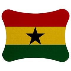 Flag Of Ghana Jigsaw Puzzle Photo Stand (bow) by abbeyz71