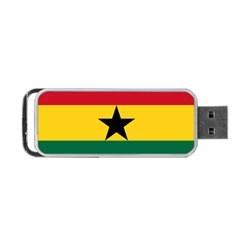 Flag Of Ghana Portable Usb Flash (two Sides) by abbeyz71