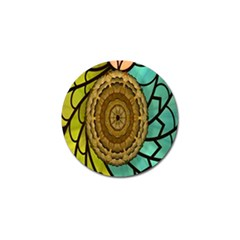 Kaleidoscope Dream Illusion Golf Ball Marker (4 Pack) by Amaryn4rt