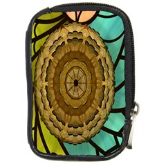 Kaleidoscope Dream Illusion Compact Camera Cases by Amaryn4rt