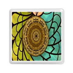 Kaleidoscope Dream Illusion Memory Card Reader (square)  by Amaryn4rt