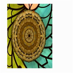 Kaleidoscope Dream Illusion Large Garden Flag (two Sides) by Amaryn4rt