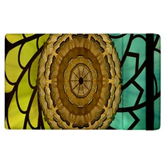 Kaleidoscope Dream Illusion Apple Ipad 2 Flip Case by Amaryn4rt