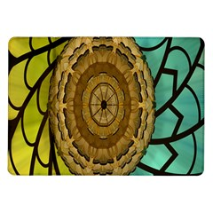 Kaleidoscope Dream Illusion Samsung Galaxy Tab 10 1  P7500 Flip Case by Amaryn4rt