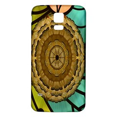 Kaleidoscope Dream Illusion Samsung Galaxy S5 Back Case (white) by Amaryn4rt