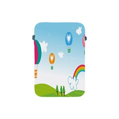 Landscape Sky Rainbow Garden Apple Ipad Mini Protective Soft Cases by Amaryn4rt