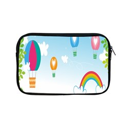 Landscape Sky Rainbow Garden Apple Macbook Pro 13  Zipper Case by Amaryn4rt