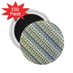 Abstract Seamless Pattern 2 25  Magnets (100 Pack)  by Amaryn4rt