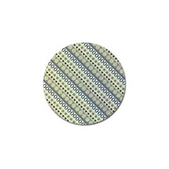 Abstract Seamless Pattern Golf Ball Marker by Amaryn4rt
