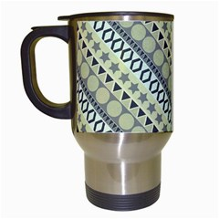 Abstract Seamless Pattern Travel Mugs (white) by Amaryn4rt