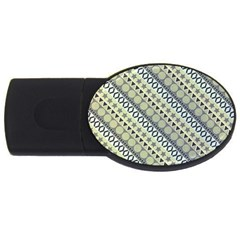 Abstract Seamless Pattern Usb Flash Drive Oval (4 Gb) by Amaryn4rt