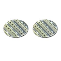 Abstract Seamless Pattern Cufflinks (oval) by Amaryn4rt
