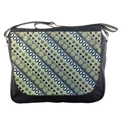 Abstract Seamless Pattern Messenger Bags by Amaryn4rt