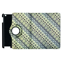 Abstract Seamless Pattern Apple Ipad 3/4 Flip 360 Case by Amaryn4rt