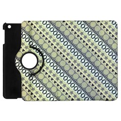 Abstract Seamless Pattern Apple Ipad Mini Flip 360 Case by Amaryn4rt