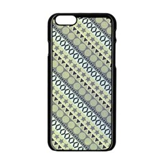 Abstract Seamless Pattern Apple Iphone 6/6s Black Enamel Case by Amaryn4rt