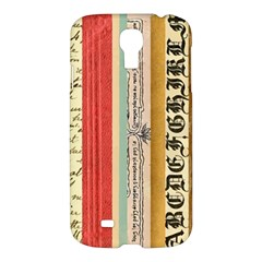 Digitally Created Collage Pattern Made Up Of Patterned Stripes Samsung Galaxy S4 I9500/i9505 Hardshell Case