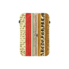 Digitally Created Collage Pattern Made Up Of Patterned Stripes Apple Ipad Mini Protective Soft Cases by Amaryn4rt