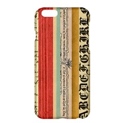 Digitally Created Collage Pattern Made Up Of Patterned Stripes Apple Iphone 6 Plus/6s Plus Hardshell Case by Amaryn4rt