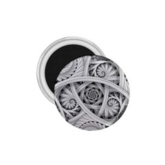 Fractal Wallpaper Black N White Chaos 1 75  Magnets by Amaryn4rt